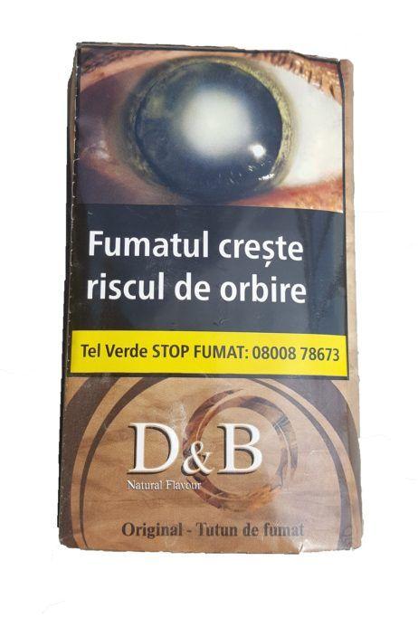 TUTUN PLIC D&B 30 GR Comenzi pe www.tuburipentrutigari.ro