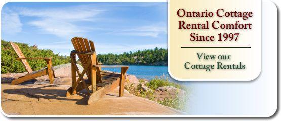 Northern Comfort Cottage Rentals - Ontario Cottage Rental Comfort Since 1997 - View our Cottage Rentals
