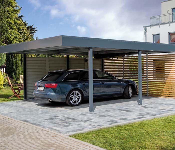 carport bilder von realisierten carport projekten garage. Black Bedroom Furniture Sets. Home Design Ideas