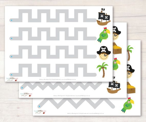 Pirate Tracing Sheets