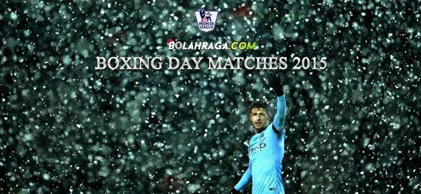 Inilah Hasil Pertandingan Liga Inggris Boxing Day 2015
