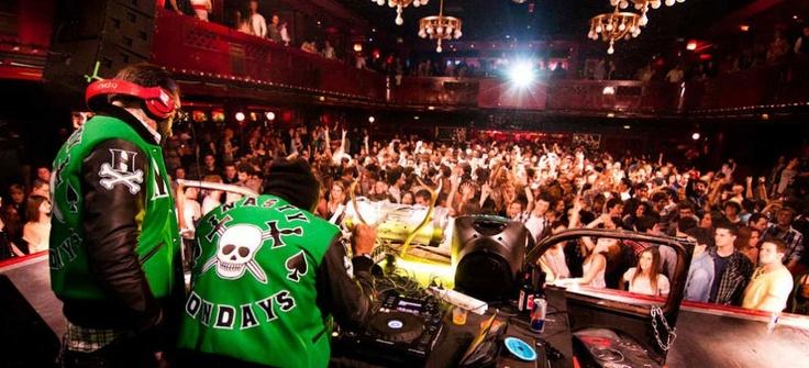 Soirée Nasty Monday dans la disco Apolo à Barcelone