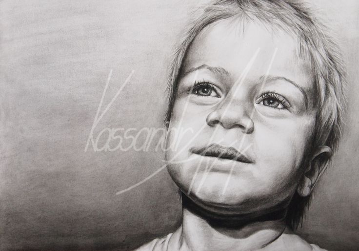 Fotorealistisches Kohleportrait Din A2 #kassandrART