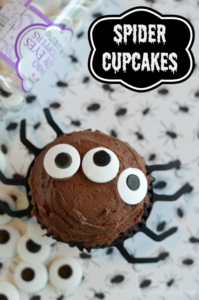 ideas about Spider Cupcakes on Pinterest | Halloween cupcakes, Spider ...