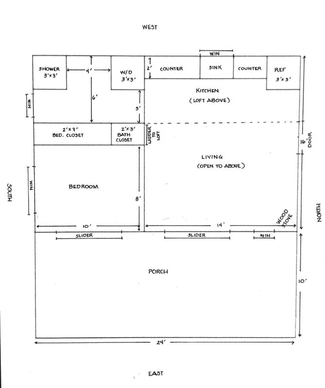 Floor Plan For 16x24 Cabin Building A Cabin Cabin Plans How To Plan