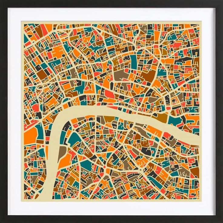 London as Framed Poster by Jazzberry Blue | JUNIQE