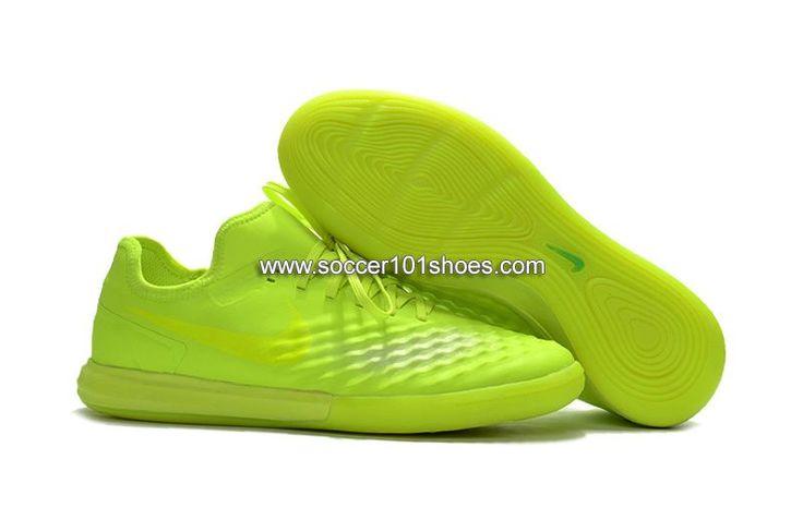 Nike Men's MagistaX Finale II IC Indoor Soccer Football Shoes Fluorescent Green  $73.00