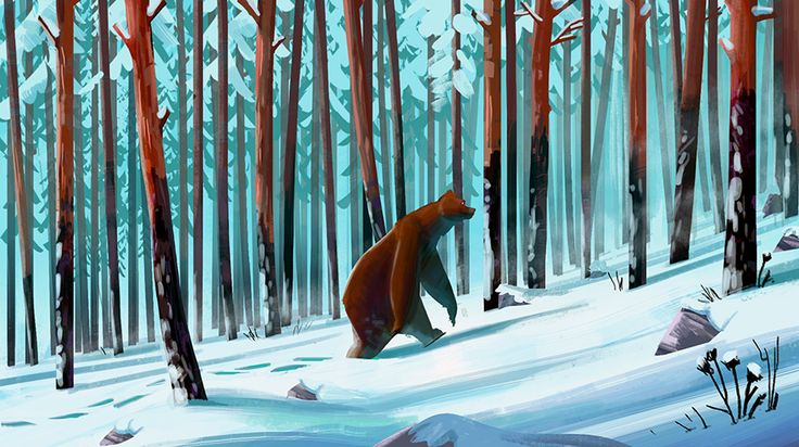 Amazing nature drawings from Clément Dartigues, totally recommend you to check his website !