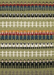 I want to weave something like this..! Pastors, black sheep, a fence, pastors, white sheep, a fence..! Such a cute motif, and really easy on even an 8 harness loom.