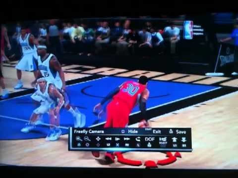 NBA 2K11 - My Player Crossover and Dunk!