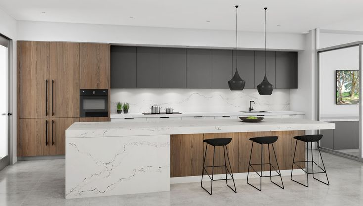 Open plan kitchen & scullery - Parramatta, NSW #DanKitchensAus