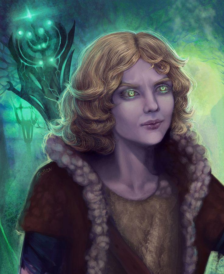 Картина художника Manurgo Falls