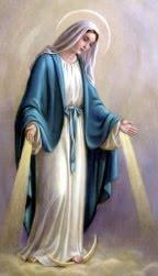 Virgen María gracias por tu manto de luz y tu pureza en el amor que nos regalas