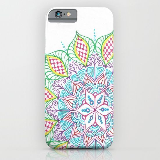 Colorful Mandala by Lady Lorelie iPhone & iPod Case by Lady Lorelie - $35.00