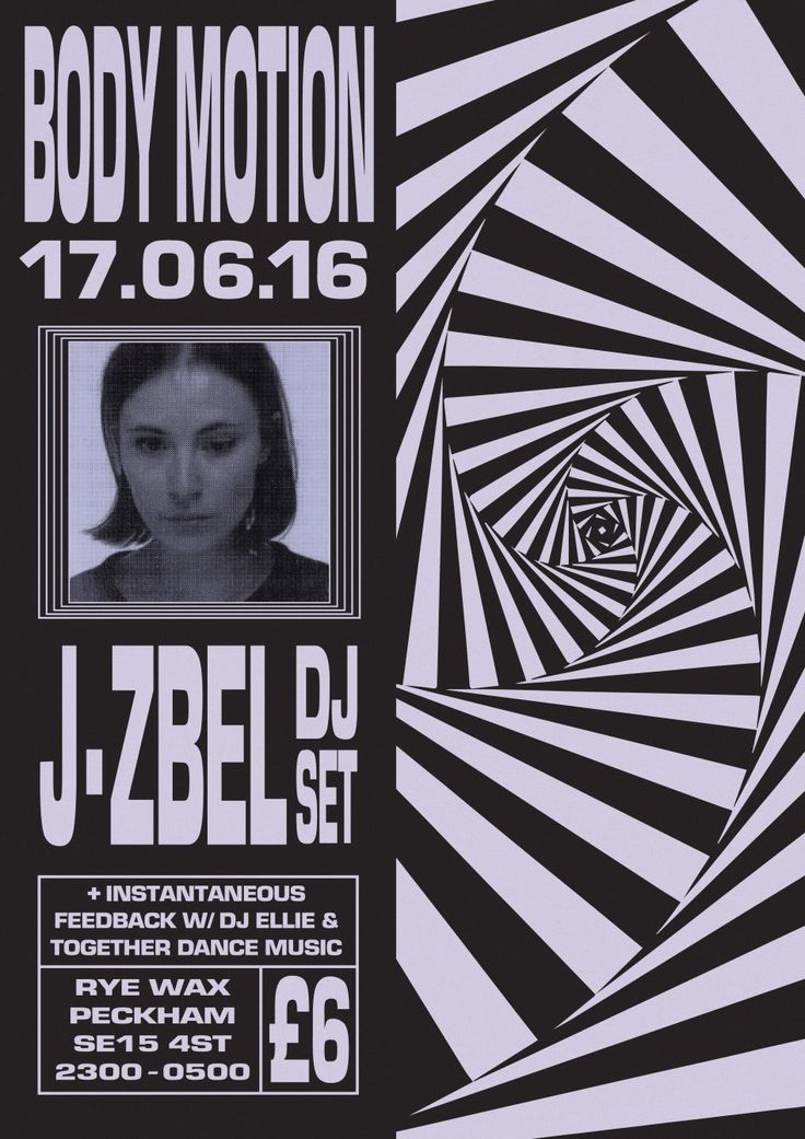 Body Motion with J-Zbel [dj set] at Rye Wax, London