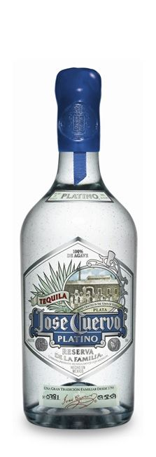Tequila Cuervo Platino. From Tequila Valley, Jalisco