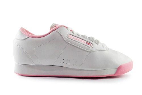 Tenis Reebok Princess - Blanco Con Rosa V68527