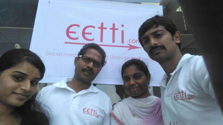 eetti team takes selfie at headstart Chennai Visit http://eetti.com/