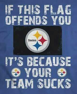Steelers flag