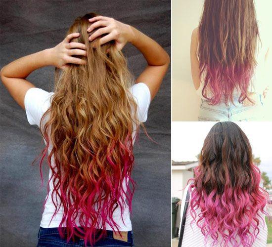 Beautiful  Kool Aid Hair Dye On Pinterest  Kool Aid Dip Dye Hair And My Hair