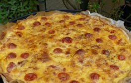 Tarte aux tomates cerises et tapenade - Manger Bouger