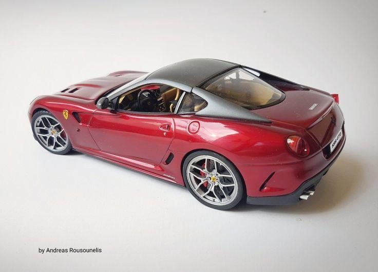 Ferrari 599 gto  1/24 scale