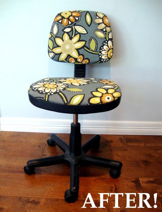 Best 25 Recover Office Chairs Ideas On Pinterest Used Office Chairs Office Chair Redo And