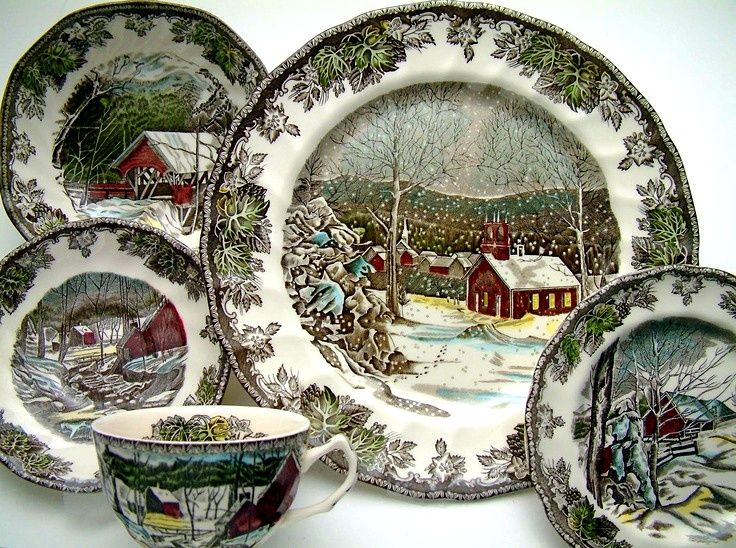 Johnson Bros Christmas dishes & 171 best johnson brothers images on Pinterest | Dishes Dish sets ...