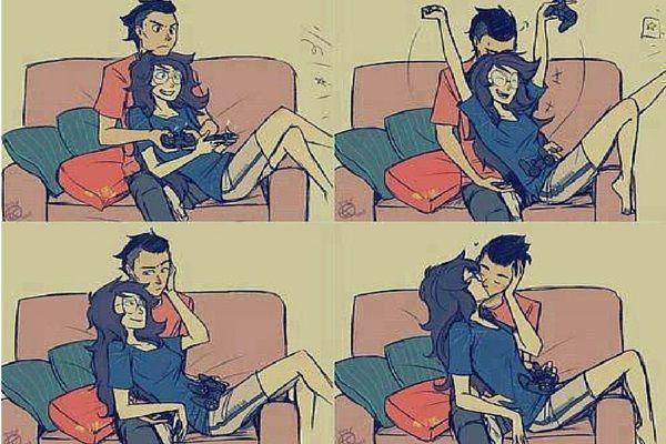 ¿Has oído hablar de las parejas gamers?  #gamers #parejas #desventajas #ventajas #amor