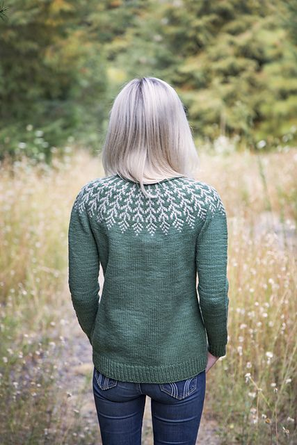 60edcfdf1 Fern   Feather pattern by Jennifer Steingass
