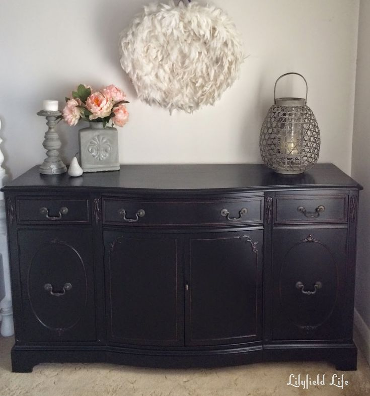 Best 25+ Black painted dressers ideas on Pinterest | Black dresser ...