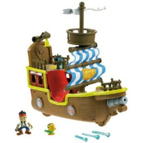 Fisher-Price Jake and the Neverland Pirates - Jake's Musical Pirate Ship Bucky