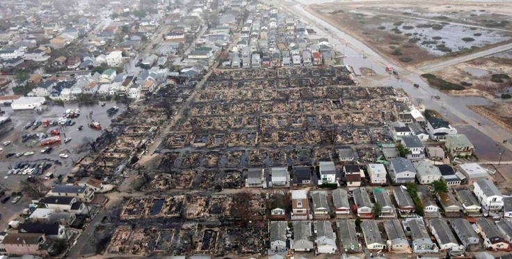 Breezy Point post-Sandy. Absolute tragedy.