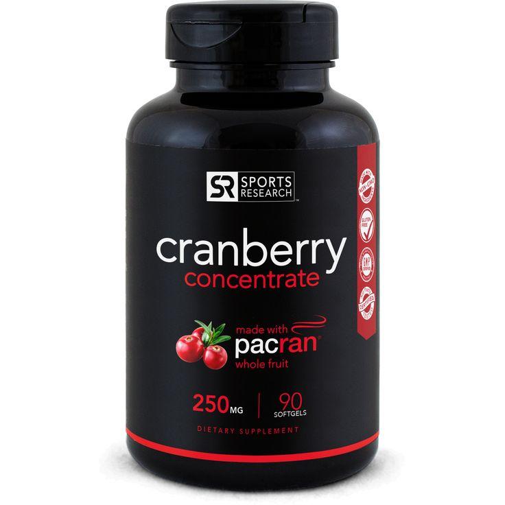 Cranberry Concentrate Pacran® 250mg (90 Liquid Softgels)