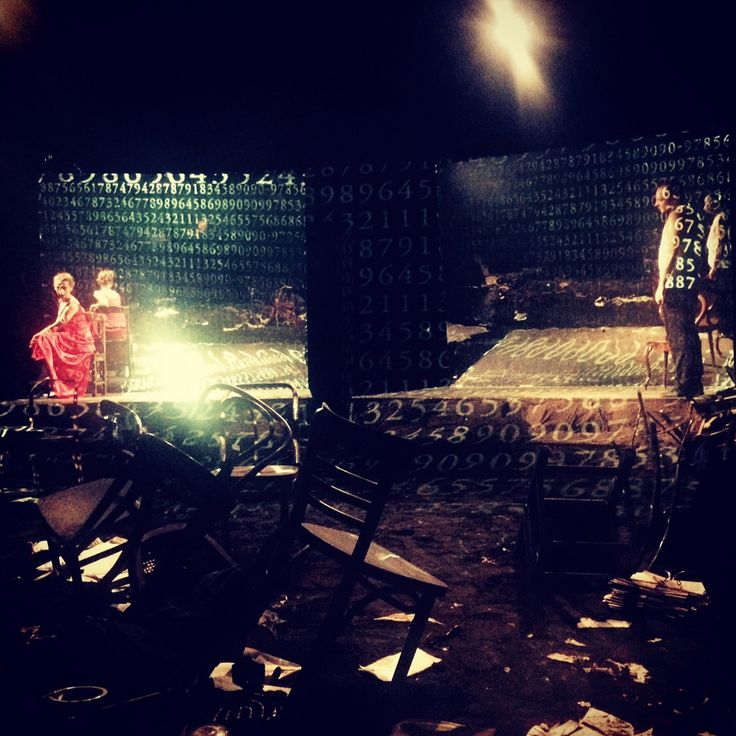 """Mosdorf""B.Bukowski./dir.B.Bukowski/ set & costumes Kasia Stochalska/ Nowy Teatr Poznań/ Poland  fot. K.Stochalska"
