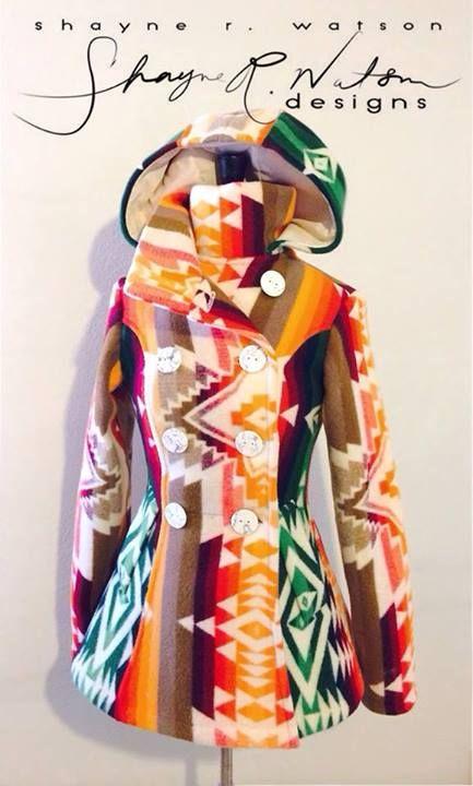 Shayne Watson Designs- Pendleton Pea-Coat