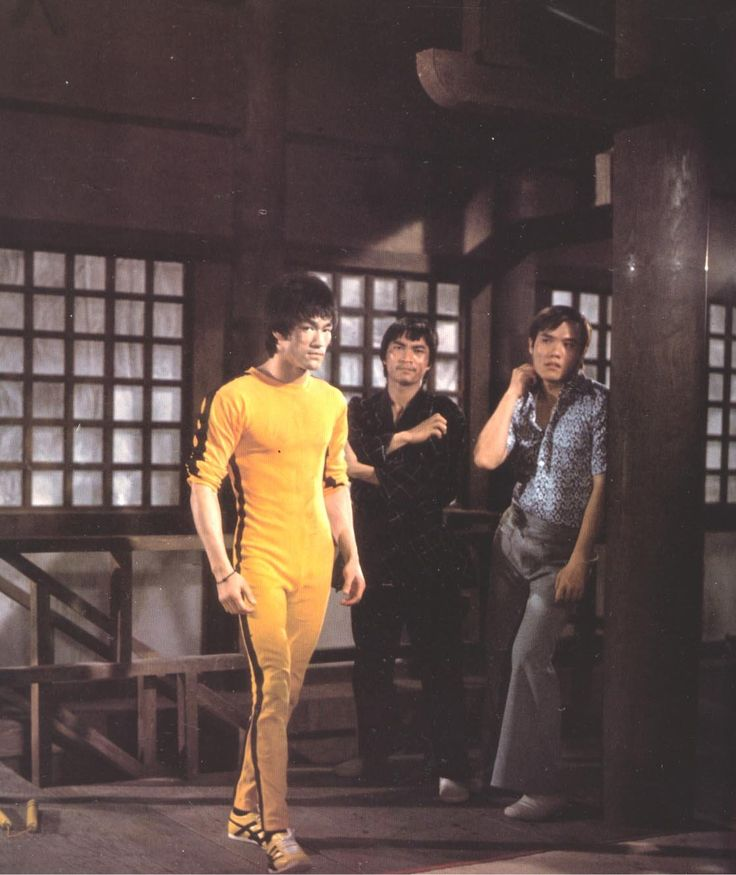 Bruce Lee from deleted scene of The Game of Death