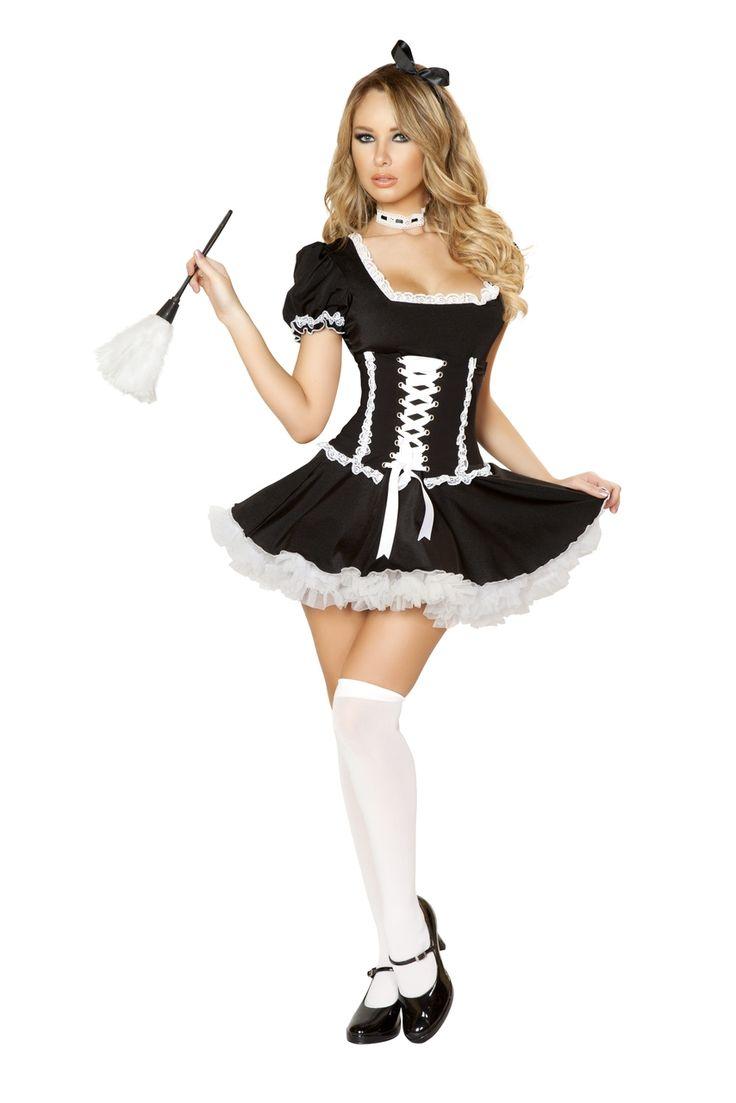 sexy französische Magd Halloween Kostüme
