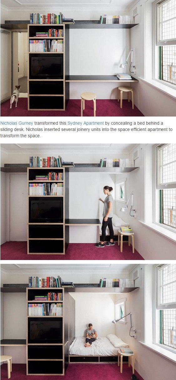 22 best Space-Saving Design images on Pinterest | Small spaces ...