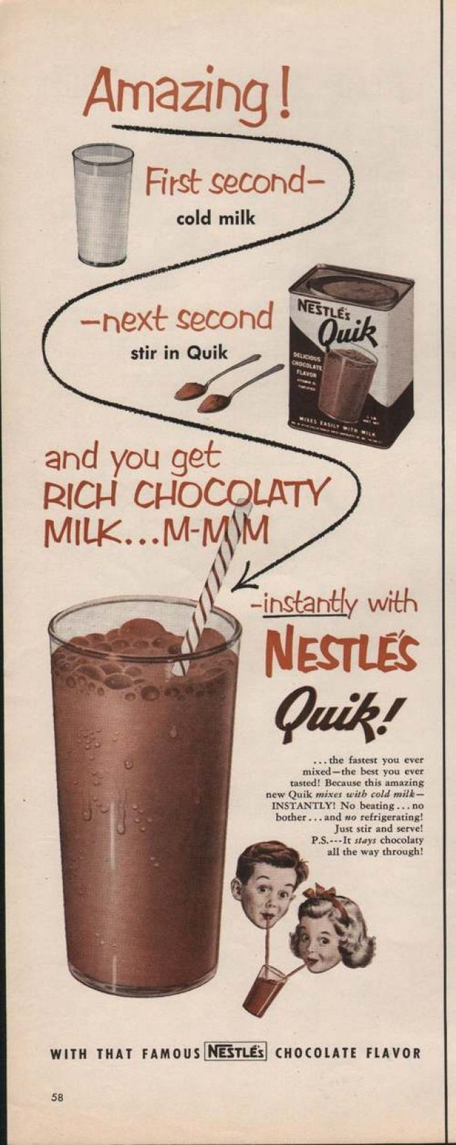 Quick Ads For Beauty Product Blusher Oneminutebriefs: 1000+ Images About Retro / Vintage Nestle On Pinterest