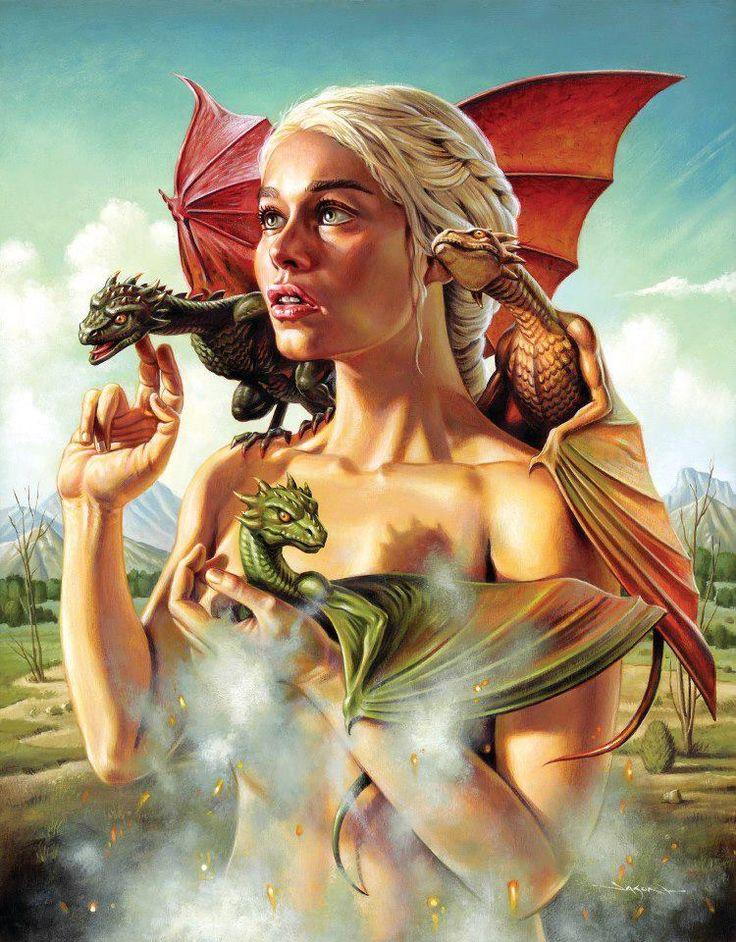 Game of Thrones ganha belos pôsteres feitos por artistas