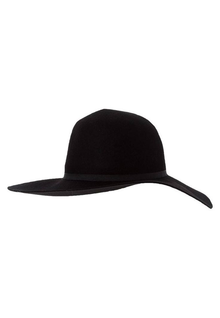 COONEY - Hat - black. Outer fabric material:100% wool. Pattern:plain. Washing instructions:Do not wash