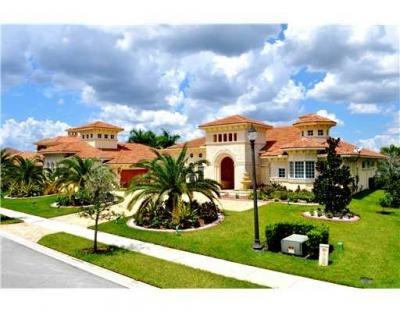 Gorgeous 10,000+ sq.ft. Mediterranean Florida Home