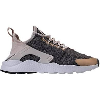 Nike Women's Air Huarache Run Ultra Casual Shoes, Grey - Size 7.5
