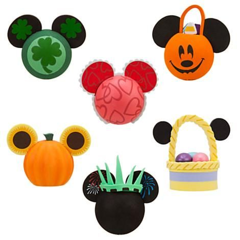 Mickey Mouse Antenna Topper Set - All Holidays
