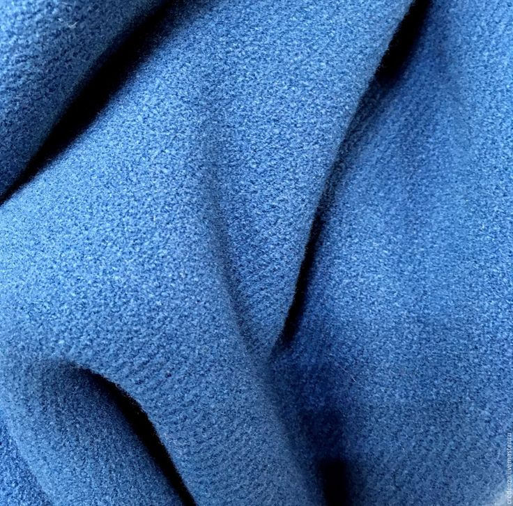 """Купить Пальтовая шерсть """"Речная долина"""" - синий, речной синий, синяя ткань, синее пальто"""