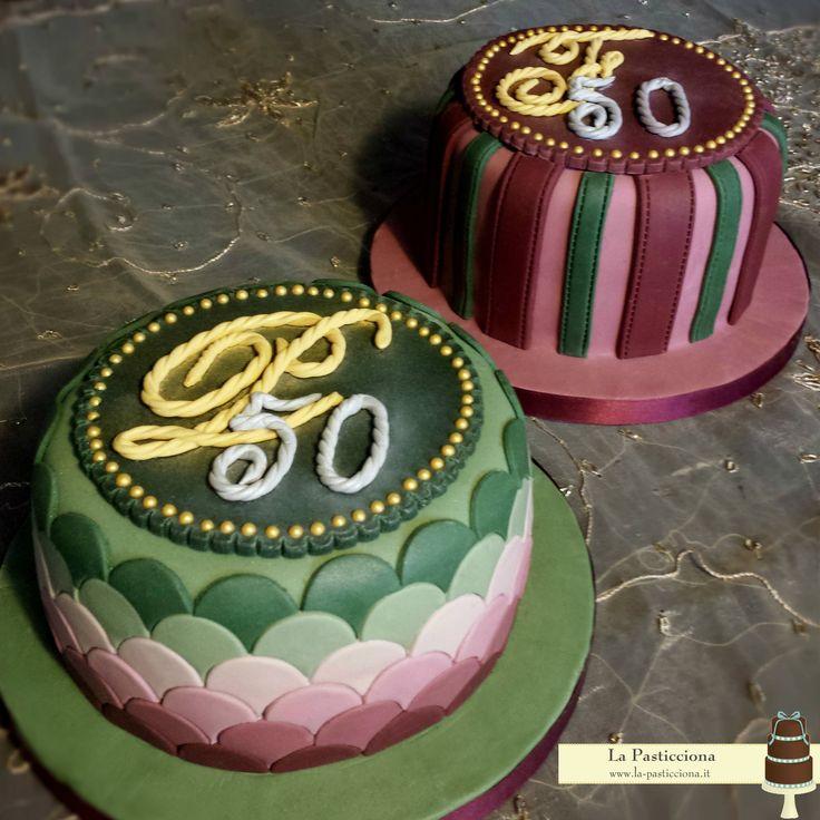 torte di compleanno per due gemelli che per la prima volta hanno una torta ciascuno! www.la-pasticciona.it