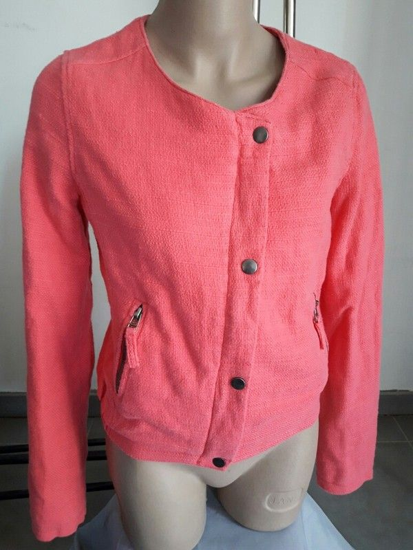 veste rose la redoute neuve petit dfaut taille 36