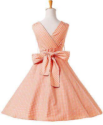 Abito Donna Vintage Stile Anni 50 70 60 Festa da Ballo Swing Tea Corto Vestiti b