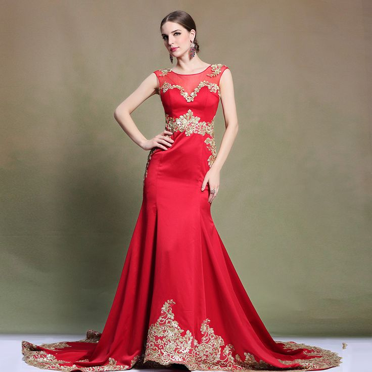 Find More Evening Dresses Information about 31321 new arrival 2015 kam cotton red o neck matte golden sequined illusion sleeveless sweep train mermaid evening long dress,High Quality cotton necklace,China cotton dress patterns Suppliers, Cheap cotton plus size dresses from Shenzhen LZB Led Lighting Company on Aliexpress.com